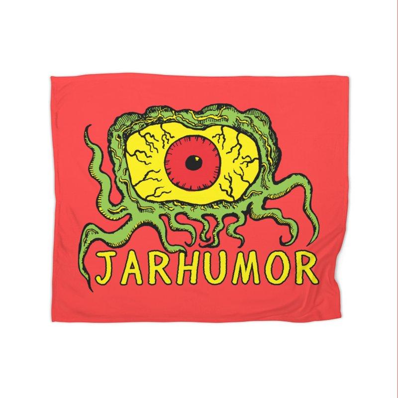 JARHUMOR Creeping Eye Home Fleece Blanket Blanket by JARHUMOR