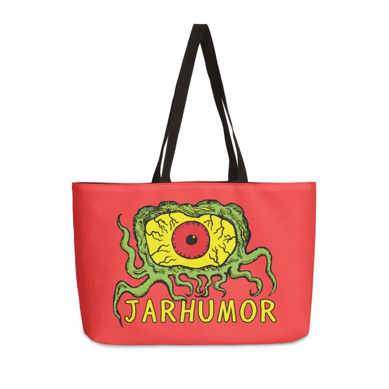 JARHUMOR Creeping Eye Accessories Bag by JARHUMOR