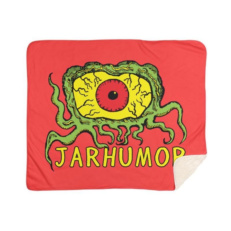 JARHUMOR Creeping Eye Home Sherpa Blanket Blanket by JARHUMOR