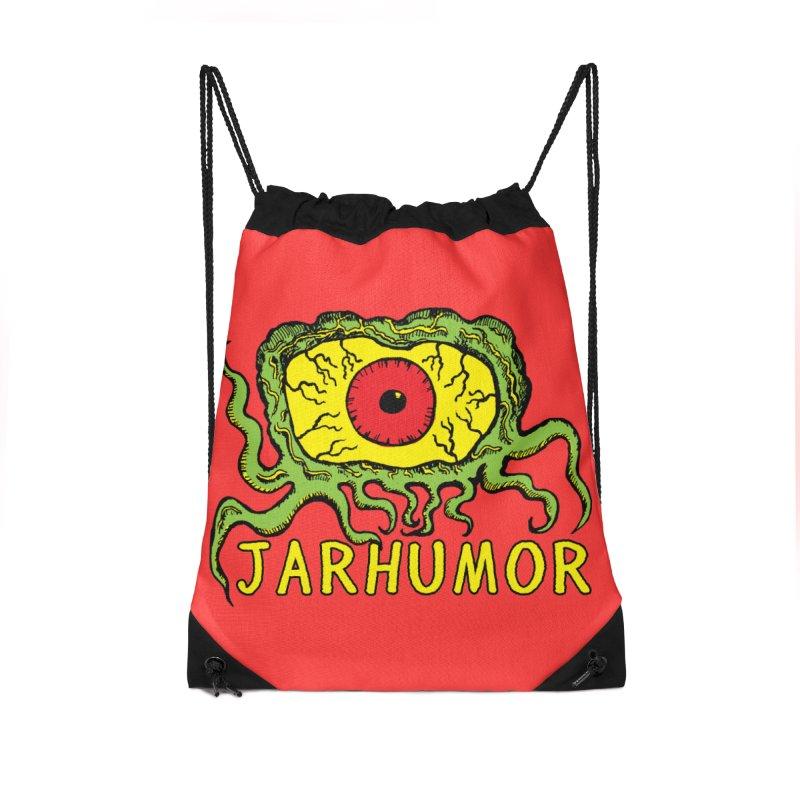JARHUMOR Creeping Eye Accessories Drawstring Bag Bag by JARHUMOR