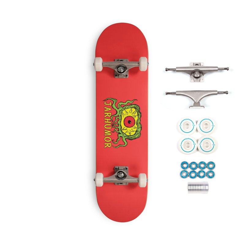 JARHUMOR Creeping Eye Accessories Complete - Basic Skateboard by JARHUMOR