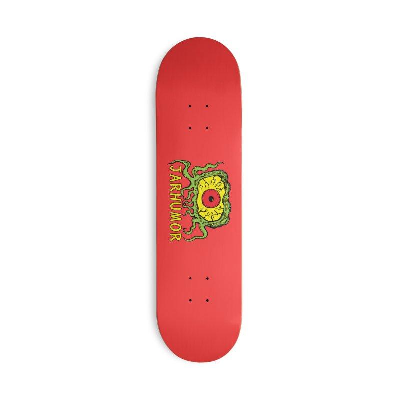 JARHUMOR Creeping Eye Accessories Deck Only Skateboard by JARHUMOR