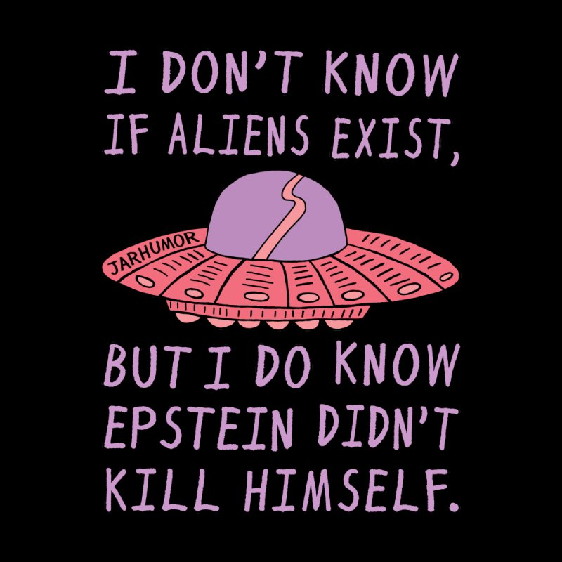 Alien Epstein Accessories Zip Pouch by JARHUMOR