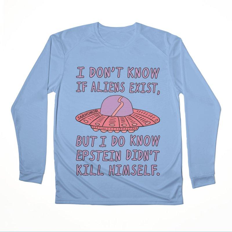 Alien Epstein Men's Longsleeve T-Shirt by JARHUMOR