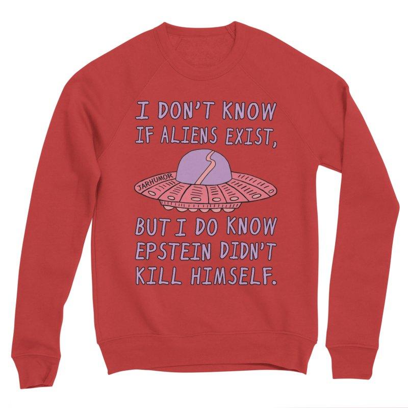 Alien Epstein Women's Sweatshirt by JARHUMOR