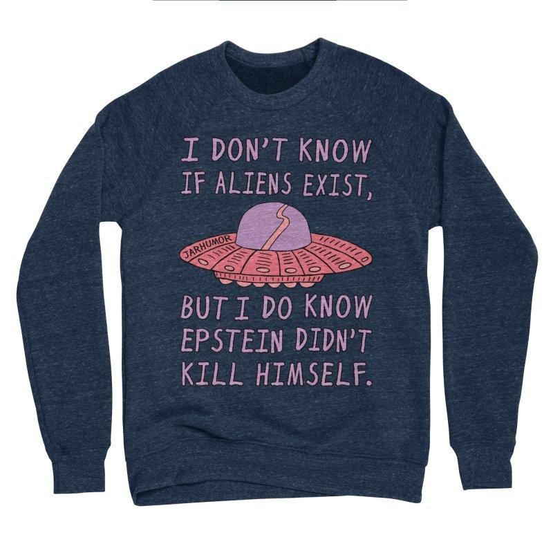 Alien Epstein Women's Sponge Fleece Sweatshirt by JARHUMOR