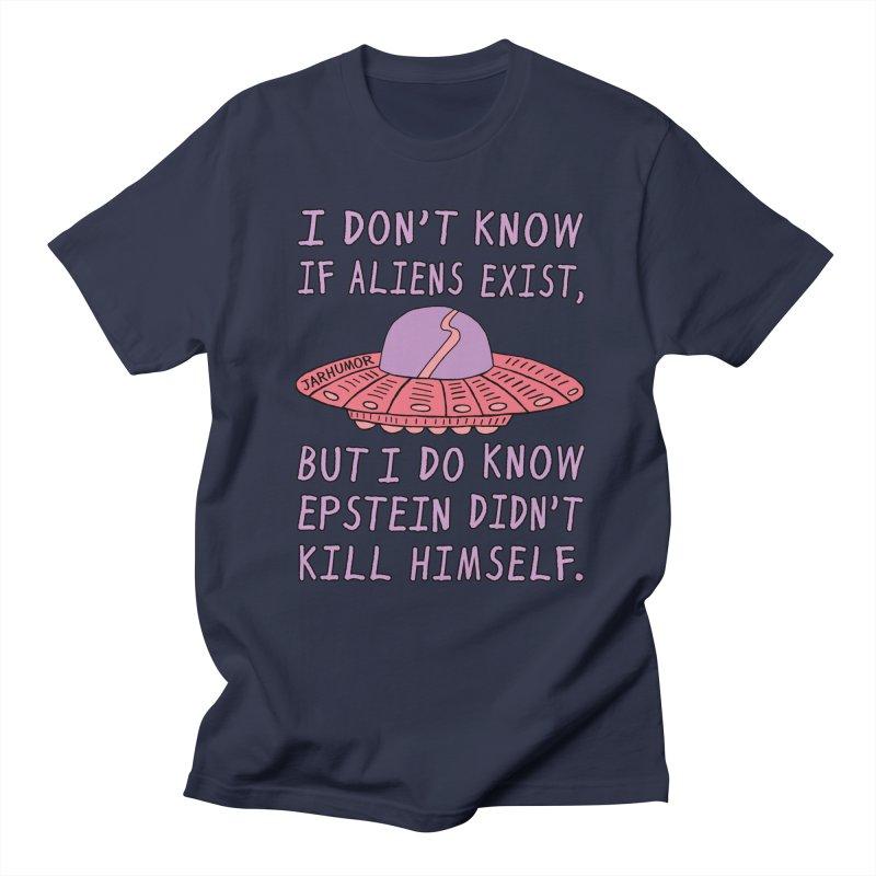 Alien Epstein Men's Regular T-Shirt by JARHUMOR