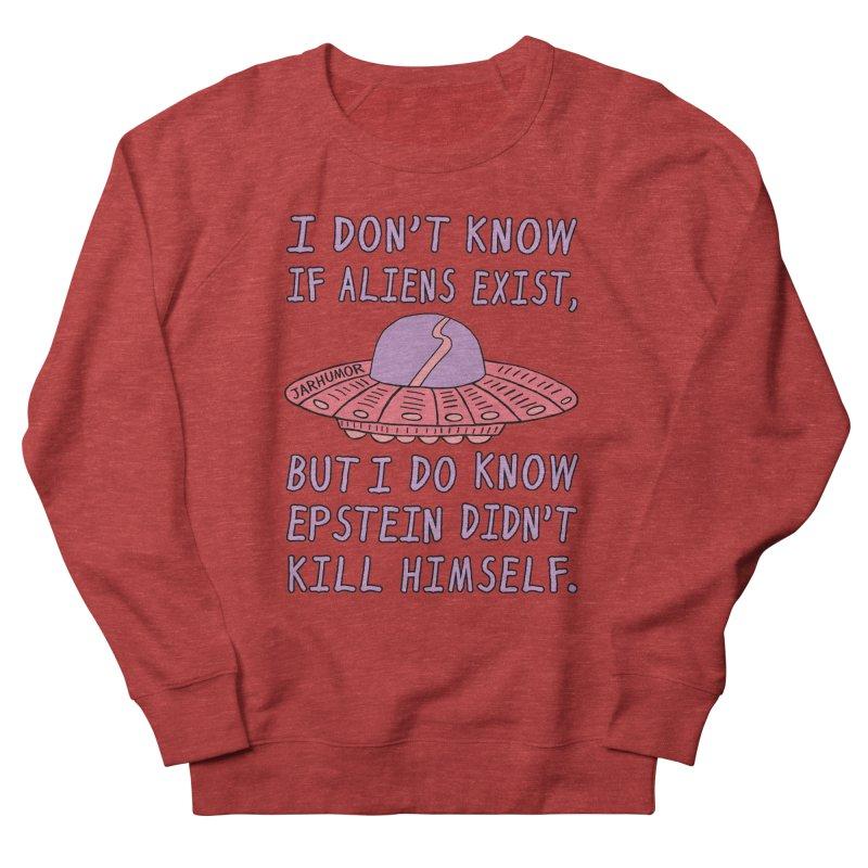 Alien Epstein Men's French Terry Sweatshirt by JARHUMOR