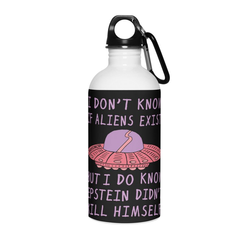 Alien Epstein Accessories Water Bottle by JARHUMOR