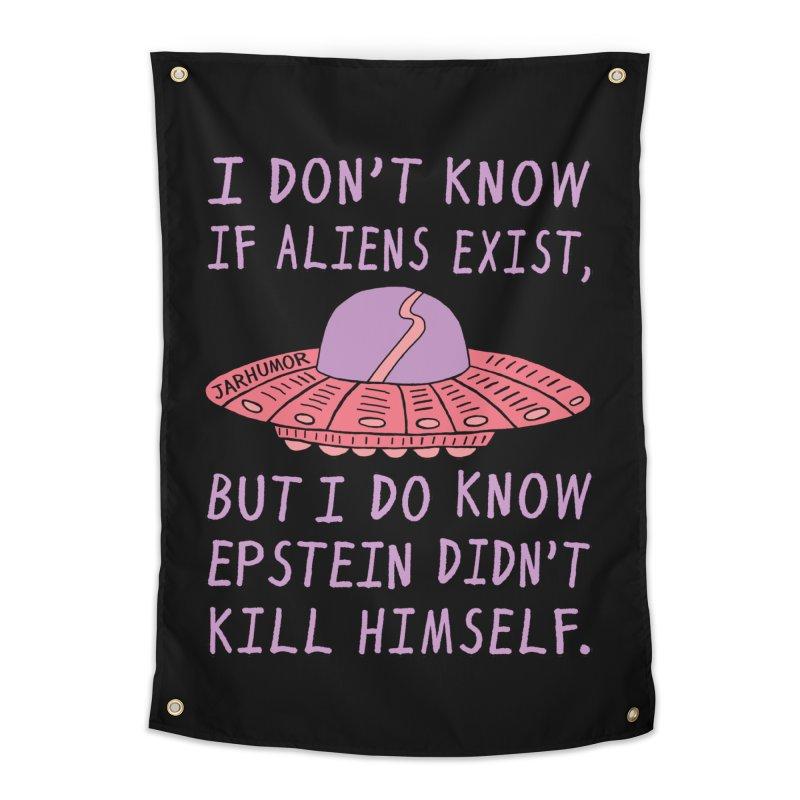 Alien Epstein Home Tapestry by JARHUMOR