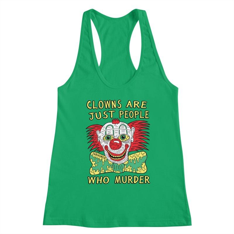 Clown Murder Women's Tank by JARHUMOR