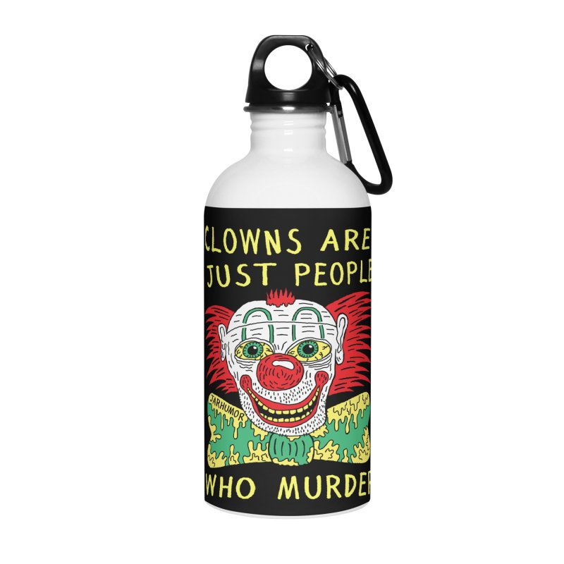 Clown Murder Accessories Water Bottle by JARHUMOR