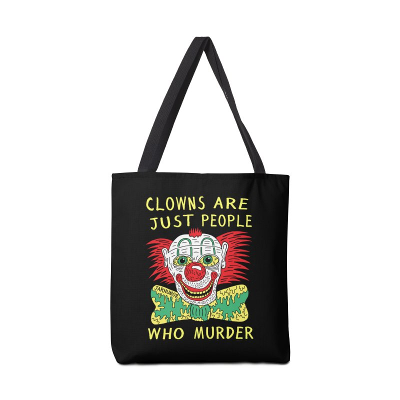 Clown Murder Accessories Tote Bag Bag by JARHUMOR