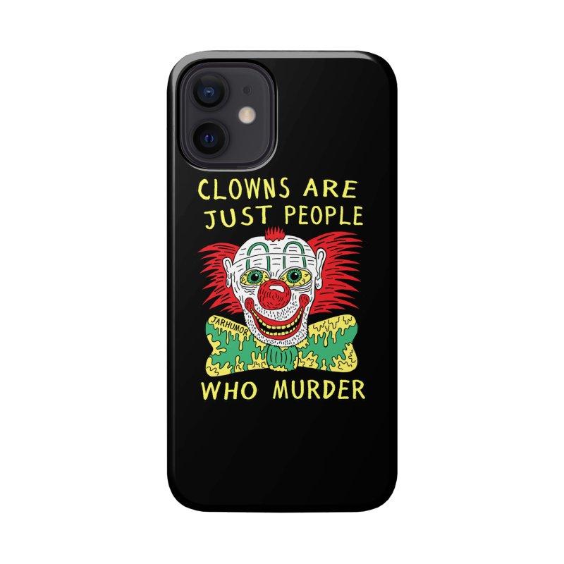 Clown Murder Accessories Phone Case by JARHUMOR