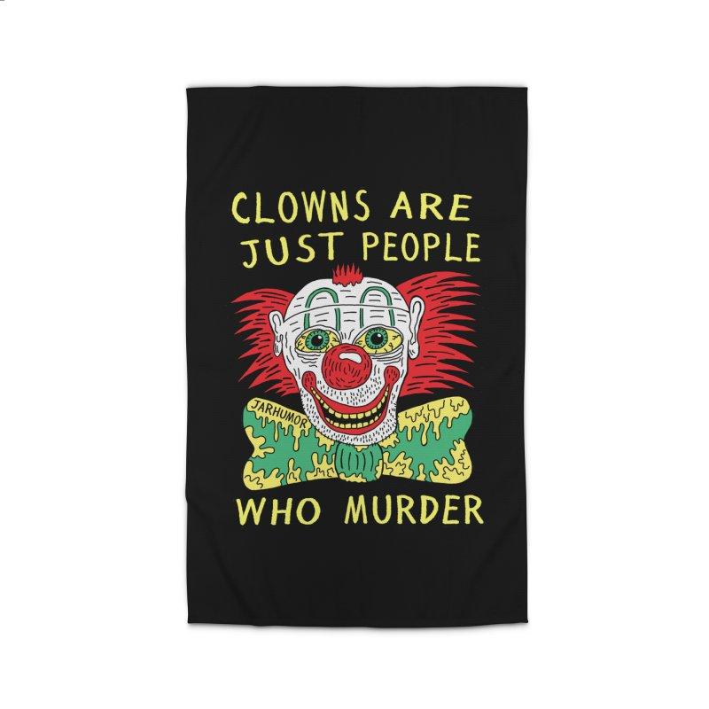 Clown Murder Home Rug by JARHUMOR