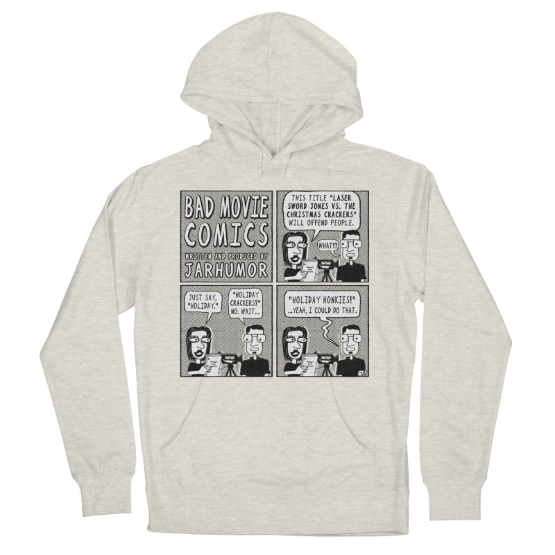 Jive-Ass Holiday Movie Women's French Terry Pullover Hoody by JARHUMOR
