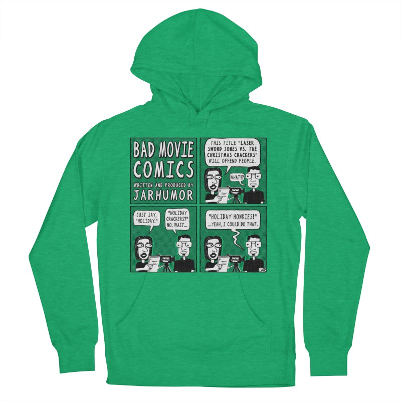 Jive-Ass Holiday Movie Men's French Terry Pullover Hoody by JARHUMOR