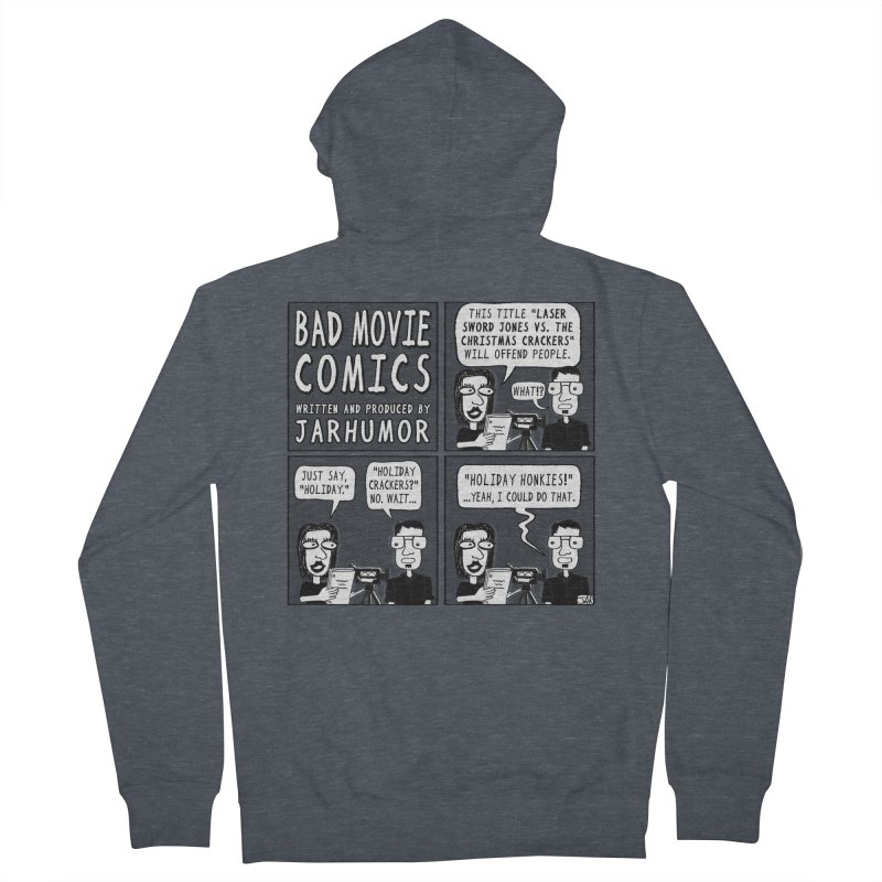 Jive-Ass Holiday Movie Women's Zip-Up Hoody by James A. Roberson (JARHUMOR)