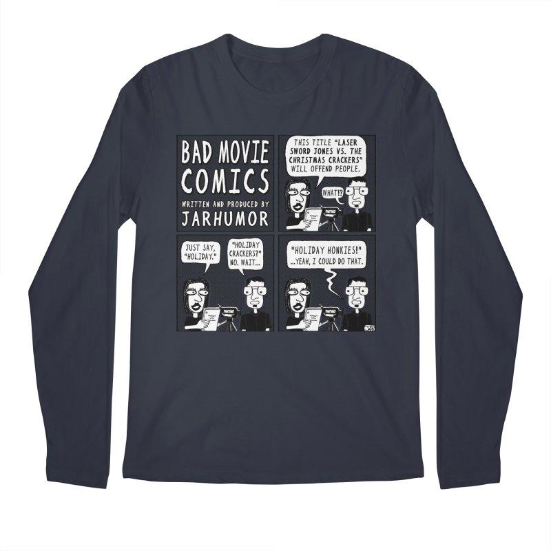Jive-Ass Holiday Movie Men's Regular Longsleeve T-Shirt by JARHUMOR