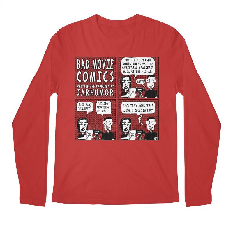 Jive-Ass Holiday Movie Men's Longsleeve T-Shirt by James A. Roberson (JARHUMOR)