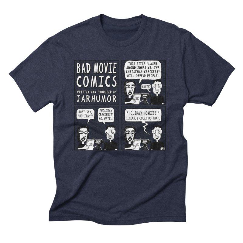 Jive-Ass Holiday Movie Men's Triblend T-Shirt by JARHUMOR