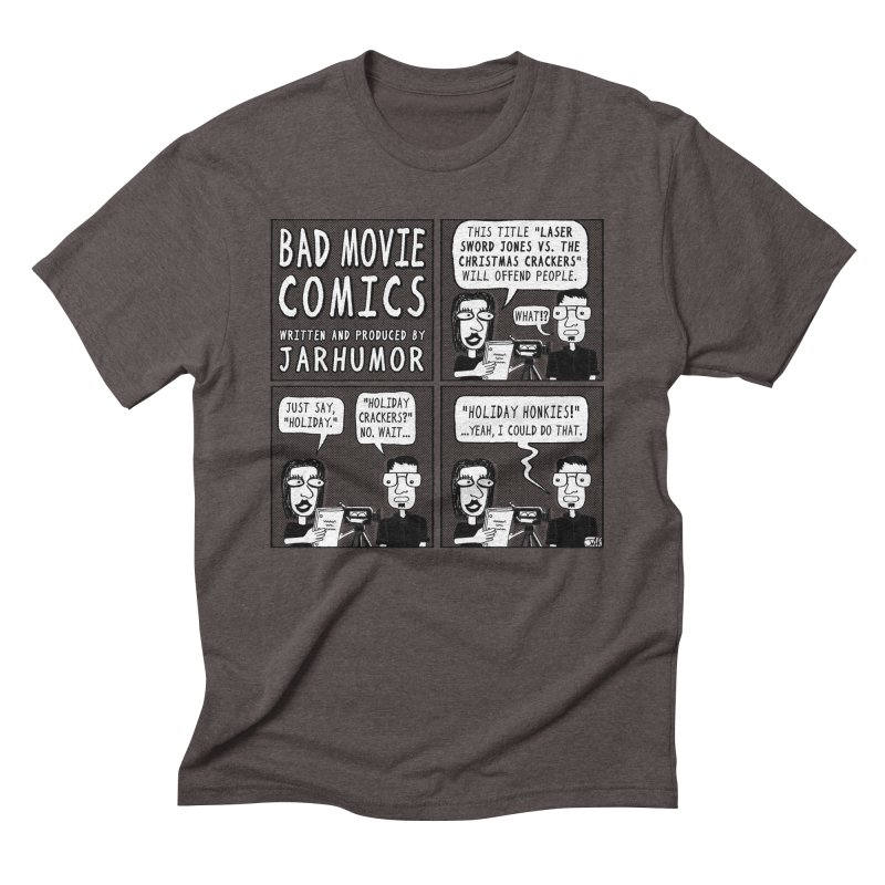 Jive-Ass Holiday Movie Men's Triblend T-shirt by James A. Roberson (JARHUMOR)