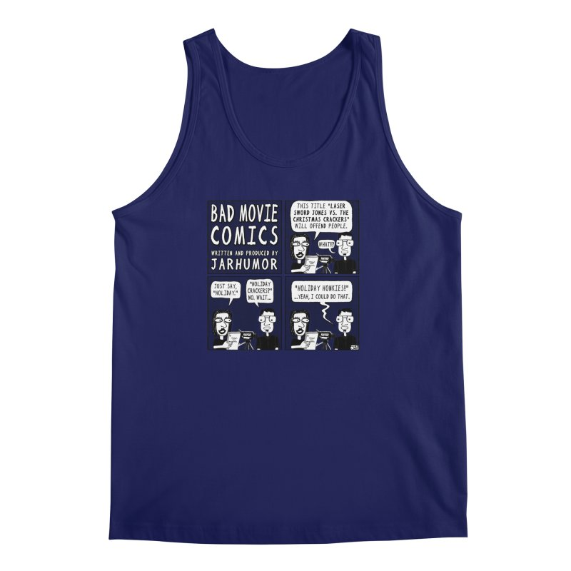 Jive-Ass Holiday Movie Men's Regular Tank by JARHUMOR