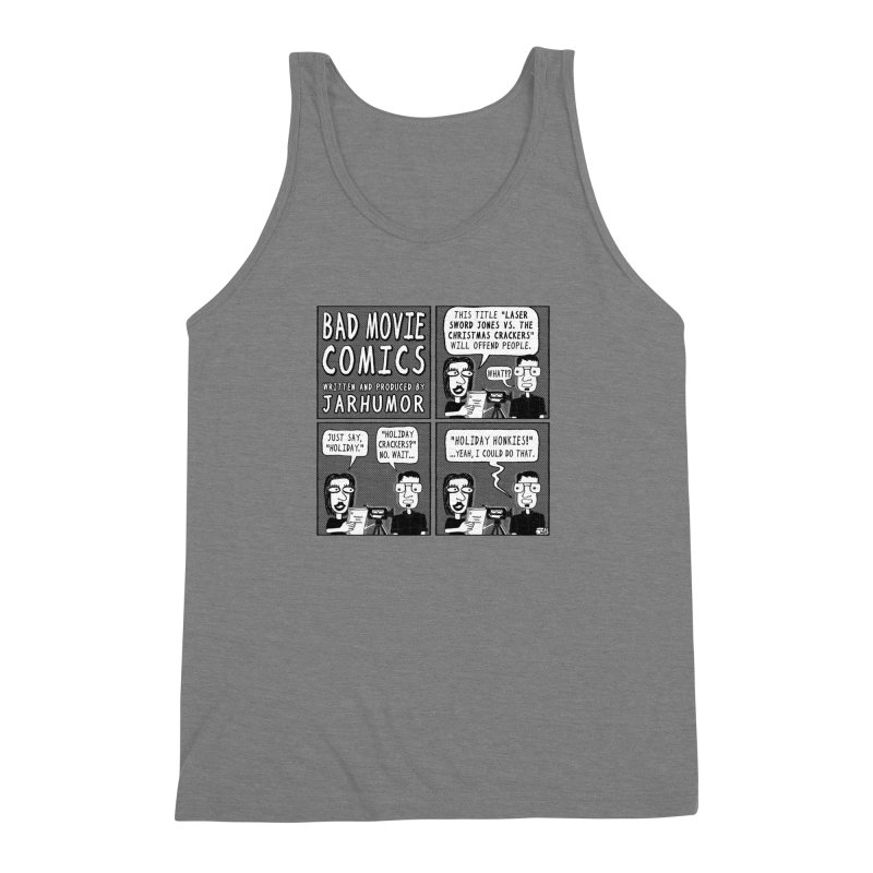 Jive-Ass Holiday Movie Men's Triblend Tank by JARHUMOR