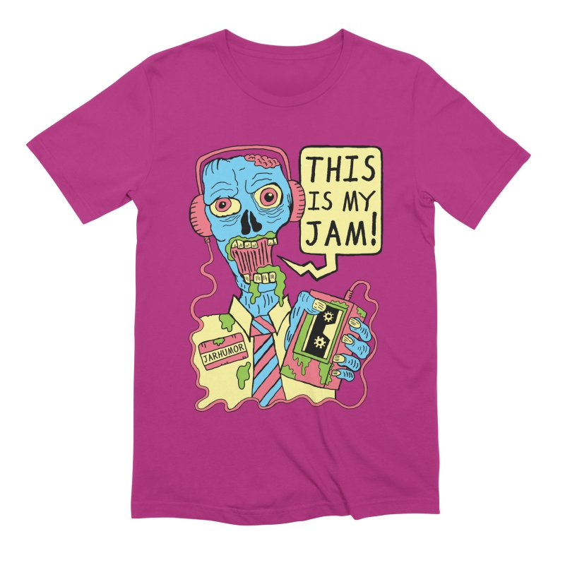 This Is My Jam Men's Extra Soft T-Shirt by JARHUMOR