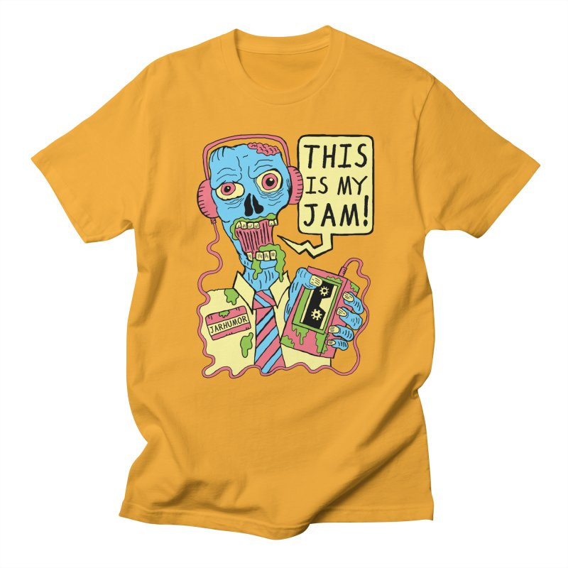 This Is My Jam Men's Regular T-Shirt by JARHUMOR