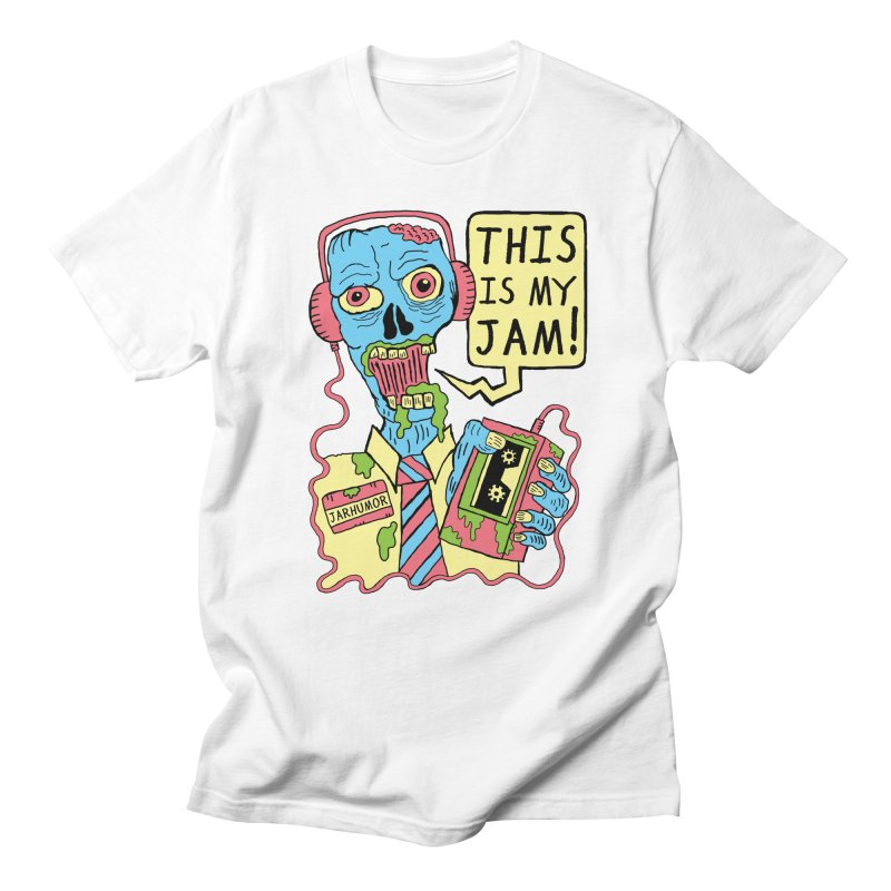 This Is My Jam Men's Regular T-Shirt by JARHUMOR
