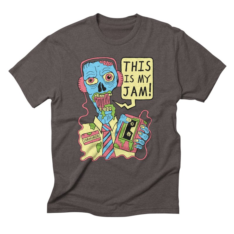 This Is My Jam Men's Triblend T-Shirt by JARHUMOR