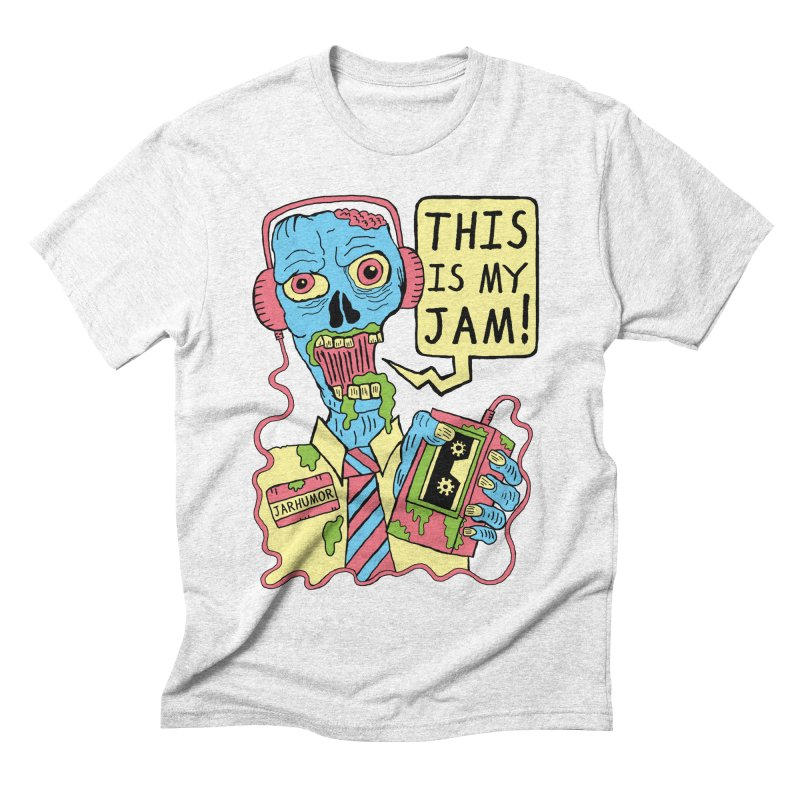 This Is My Jam Men's Triblend T-shirt by James A. Roberson (JARHUMOR)