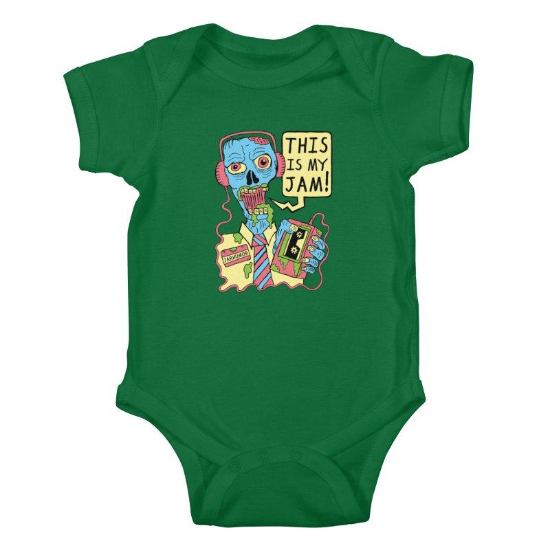 This Is My Jam Kids Baby Bodysuit by James A. Roberson (JARHUMOR)