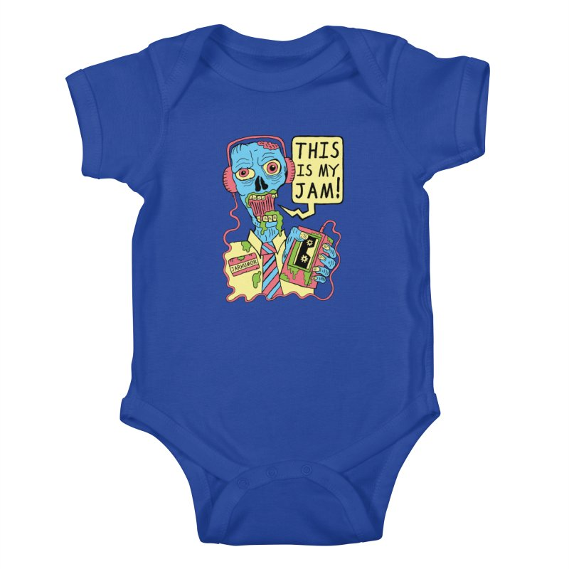 This Is My Jam Kids Baby Bodysuit by JARHUMOR