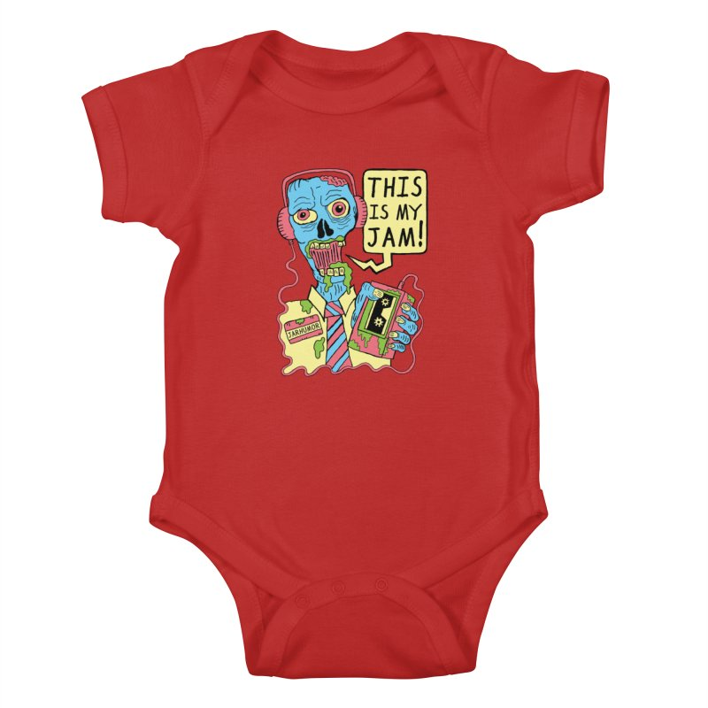This Is My Jam Kids Baby Bodysuit by James A. Roberson (JARHUMOR)