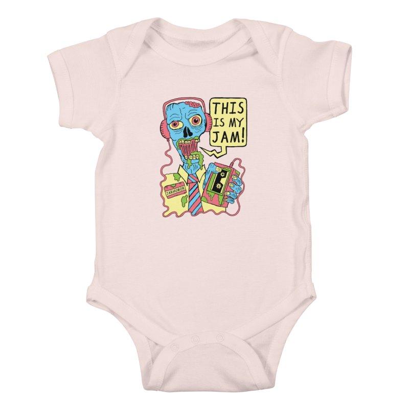 This Is My Jam Kids Baby Bodysuit by JARHUMOR