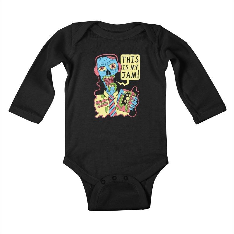 This Is My Jam Kids Baby Longsleeve Bodysuit by James A. Roberson (JARHUMOR)