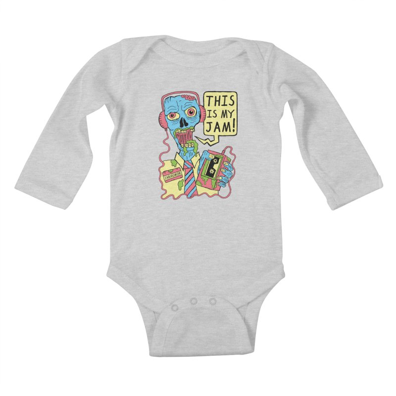 This Is My Jam Kids Baby Longsleeve Bodysuit by JARHUMOR