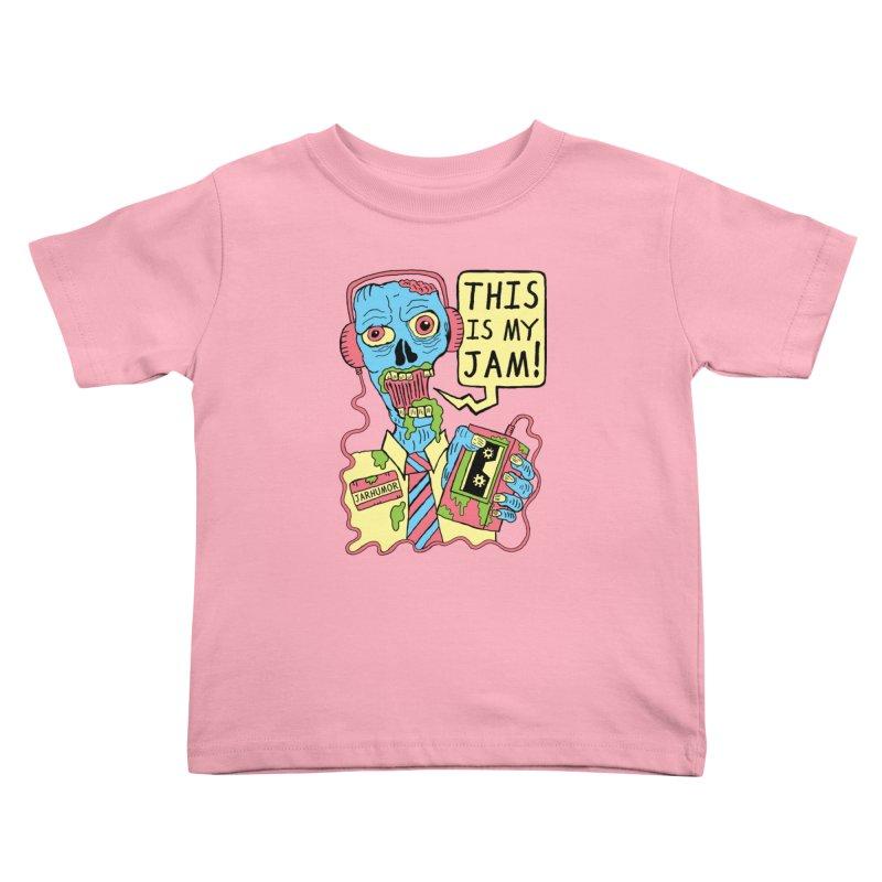 This Is My Jam Kids Toddler T-Shirt by JARHUMOR