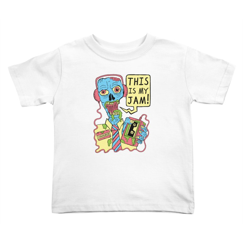 This Is My Jam Kids Toddler T-Shirt by James A. Roberson (JARHUMOR)