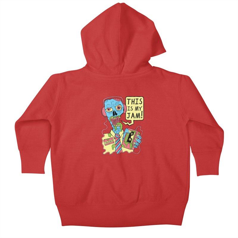 This Is My Jam Kids Baby Zip-Up Hoody by James A. Roberson (JARHUMOR)