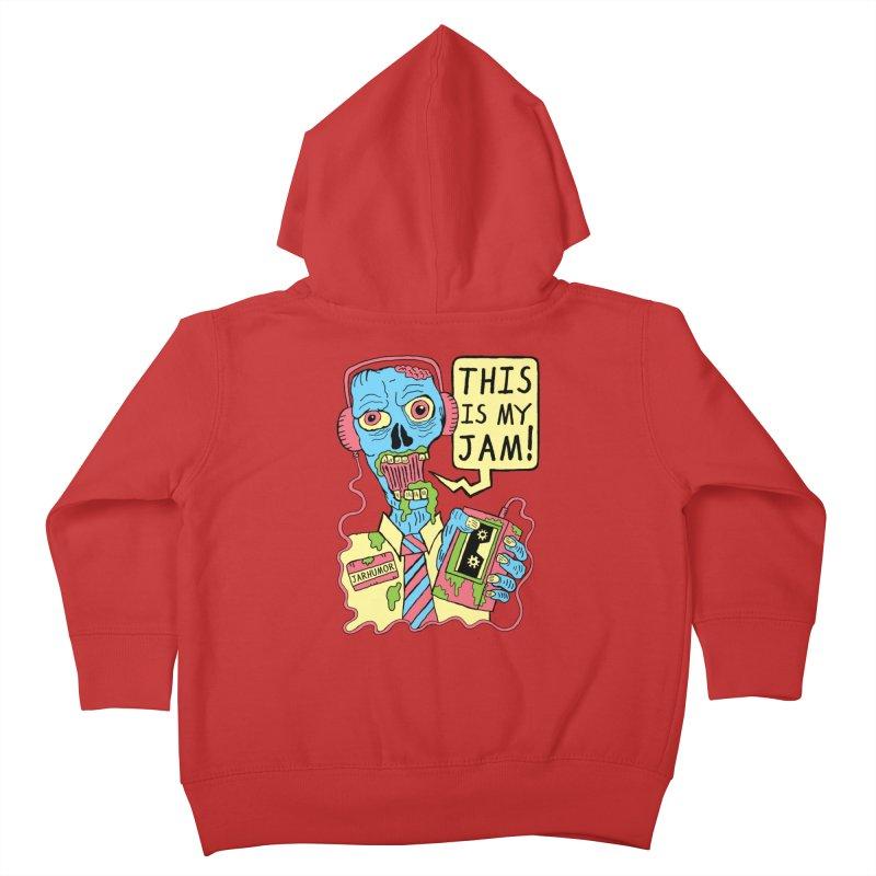 This Is My Jam Kids Toddler Zip-Up Hoody by JARHUMOR