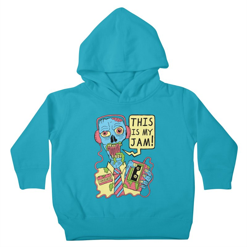 This Is My Jam Kids Toddler Pullover Hoody by James A. Roberson (JARHUMOR)