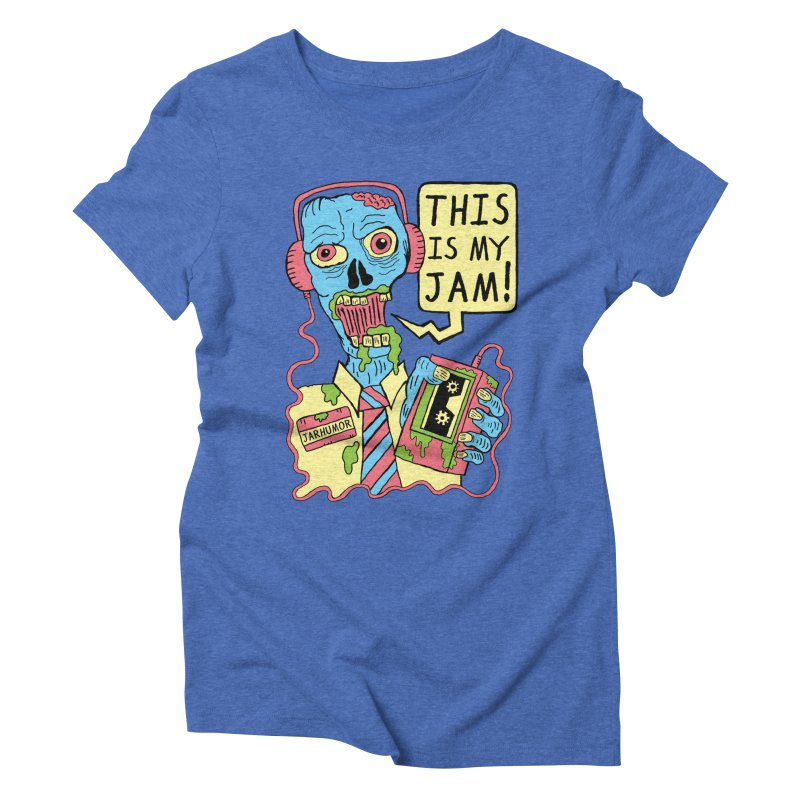 This Is My Jam Women's Triblend T-shirt by James A. Roberson (JARHUMOR)