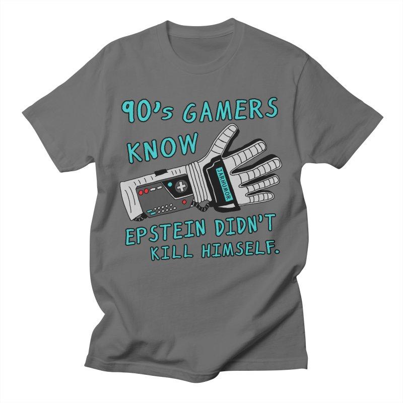 90's Gamer Epstein Men's T-Shirt by JARHUMOR