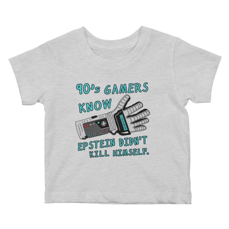 90's Gamer Epstein Kids Baby T-Shirt by JARHUMOR
