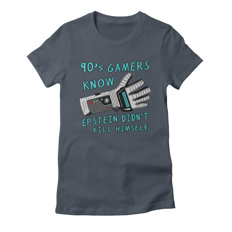 90's Gamer Epstein Women's T-Shirt by JARHUMOR