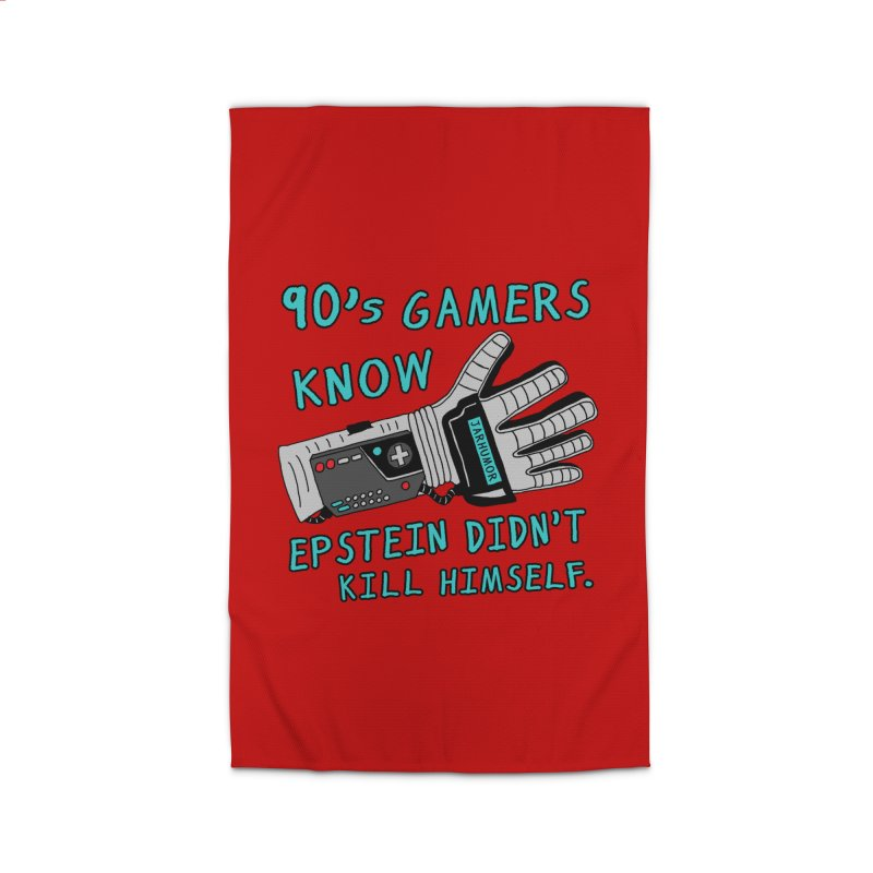 90's Gamer Epstein Home Rug by JARHUMOR
