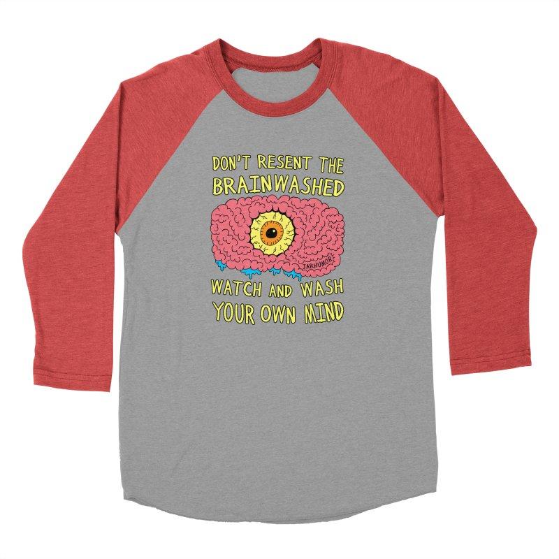 The Brainwashed Men's Longsleeve T-Shirt by JARHUMOR